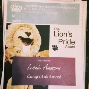 BISC: Lions Pride