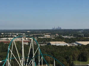 Uptown Charlotte from Carowinds