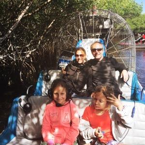 Everglades Airboot