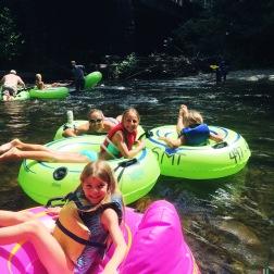 Cherokee, tubing