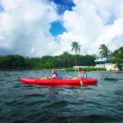 Kayaking, Islamorada