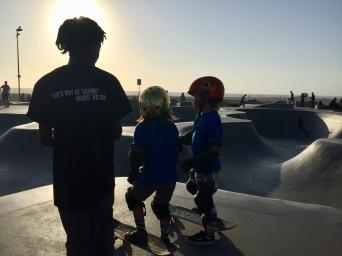 Skatepark Venice Beach LA
