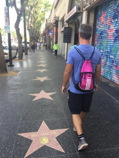 Hollywood Blvd, Walk of Fame LA