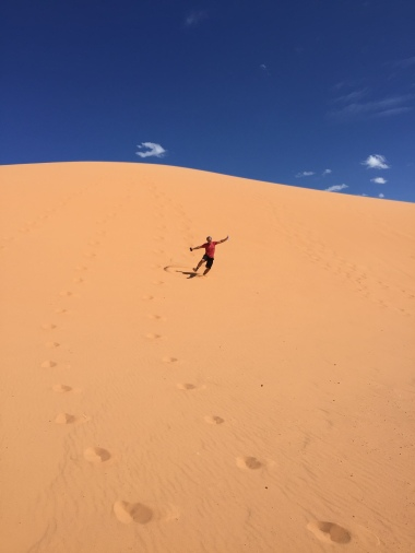 Coral sand dunes state park