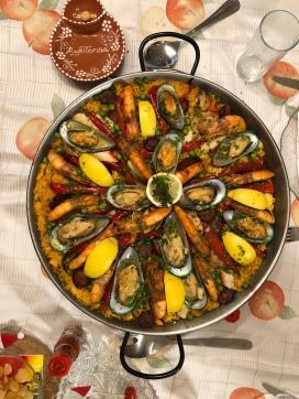 Paella portugese