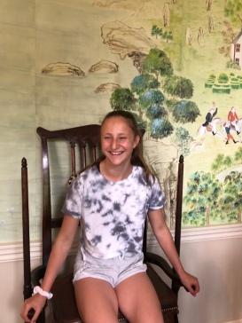 Avebury: Exercising chair